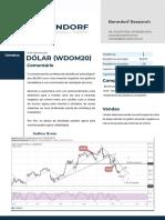 Dólar (WDOM20) 15_05_20