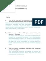 procesos economicos territoriales