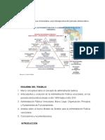 La Administración pública venezolana