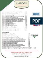 Il Mercato - Lista 2020