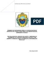 TDR Exp. Tec. SISTEMA ALERTA TSUNAMI- PISCO