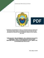TDR PERFIL ALERTA HIDROMETEOROLOGICO -PISCO