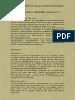 COMPARACÃO ENTRE CHIMPANZÉS, BONOBOS E O HOMEM