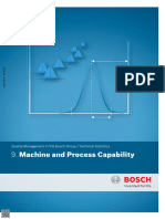 Machine and Process Capability