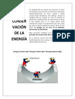 Ley conservacion de la energia