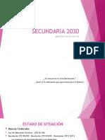 SECUNDARIA-2030