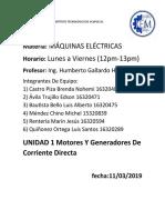 Motores y generadores de corriente directa