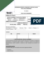 7. SYLLABUS DE COMUNICACIONES DIGITALES