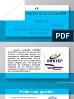 ISO 9001 infotep