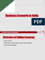 10. Business Scenario - India