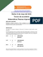 3eroSecundariaPreguntasyVideosMartes12DeMayoMEX