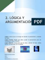 Tema 2 - Lógica y Argumentación