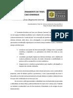Regimento Seminário Teses CCrim