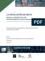 La Revolución de Mayo desde la perspectiva de distanciamiento social obligatorio