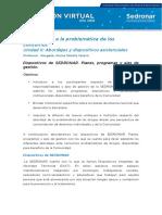 IPC-Unidad II- Dispositivos de SEDRONAR. Planes, programas y ejes de gestión