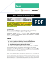 EmailRetentionArchivingPolicy2015
