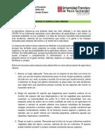 PROTOCOLO AGRICULTURA URBANA  PARTE I - EDAFOLOGIA A-B  ZOOTECNIA- 2020