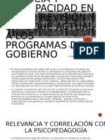 PRIMERA INFANCIA Y DISCAPACIDAD EN CHILE