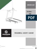 T500 Treadmill Rev.1.8