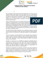 Plan de Negocios Propuesto para aplicar cada Estudio