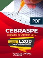 Seleção de Questões (CESPE 2019) - Completo