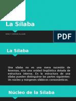 LA SILABA-DARLY Y. GARZON VILLALBA