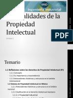 Generalidades de La Propiedad Intelectual