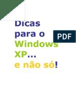 Dicas úteis na utilização do Windows
