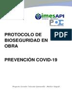 Protocolo de bioseguridad prevencion COVID-19 V3