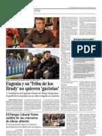 'Eugenia, En Familia' El Mundo