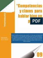 6.COMPETENCIAS Y CLAVES PARA HABLAR BIEN EN PUBLICO