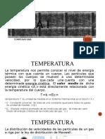 Temperatura-Física II