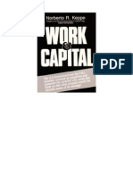 Work and Capital - Introduction