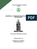 DESARROLLO Y ADMINISTRACION DE UN PROGRAMA DE PUBLICIDAD (1) (1)