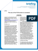 JSF Intl Demand Report