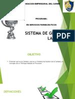 SISTEMA DE GESTION D ELA CALIDAD