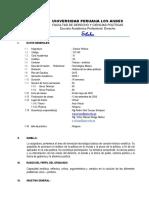 SILABUS DE CIENCIA  POLITICA