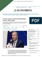 Costo de sismos no afectará PIB ni inflación de 2017 y 2018_ Meade _ El Economista