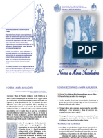 Novena María Auxiliadora 2020 - Folleto