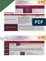 Planeación didáctica Unidad 3. Marco jurídico y función policial