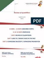 QuantifiersEnglishIII-FINAL