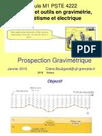 Prospection Gravimétrique