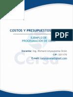 Sesión 6_Ejemplo de Aplicación de programación de Obra.2019_P