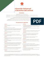 declaracion universal de los derechos del animal.pdf