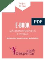 E-BOOK MACRONUTRIETES
