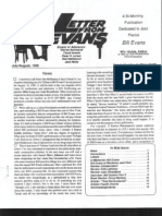 Letter From Evans, Vol 1, No  6