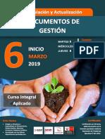 Brochure_Formulacion de los Nuevos Documentos de Gestion Institucional_Enero 2019