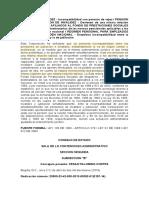 C.E. 25000-23-42-000-2013-00382-01(2197-14) Incompatibilidad P J vs P I. Fonpremag