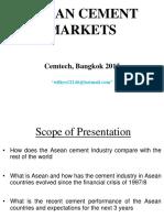 ASEAN CEMENT MARKETS