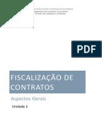Unidade 3 - Aspectos gerais relacionados à fiscalização de contratos 2020.pdf